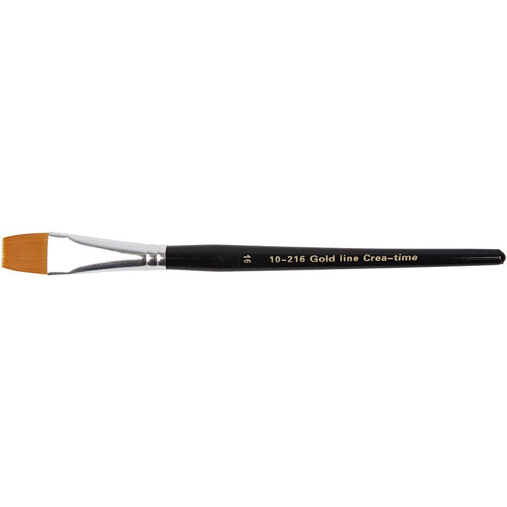 Gold Line Brush - size 16 flat