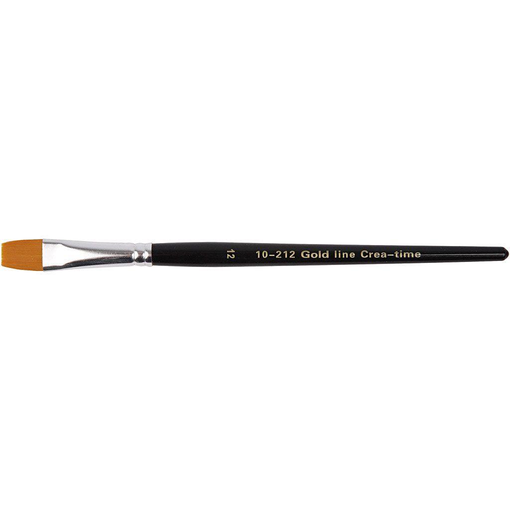 Gold Line Brush - size 16 flat
