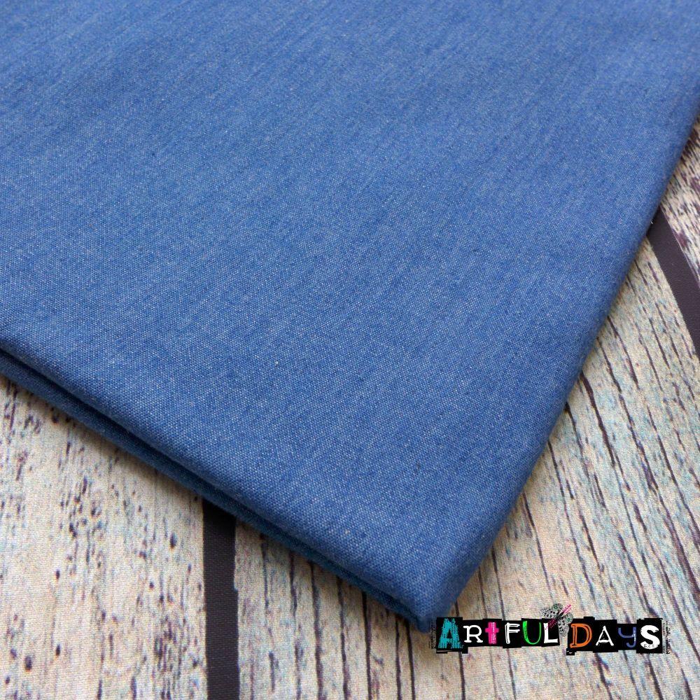 Denim Material - Washed 4oz (146 x 65cm)
