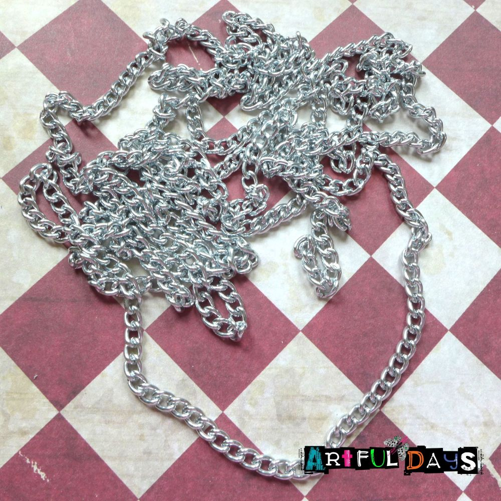 Silver Metal Chain - 2 Meters