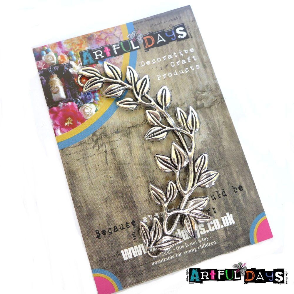 Treasured Artefacts - Leafy Silver Branch (TA233)