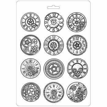 Stamperia Mechanisms- Soft Mould A4 (K3PTA453)