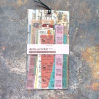Antique Ticket Stickers (PA016)