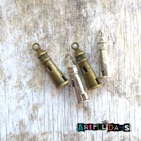 Silver & Bronze Lighthouse Charms (C068)