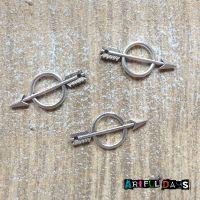 Silver Circle Arrows (C133)