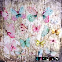 Beautiful Butterfly Stickers - Fresh (PA010)