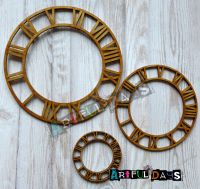 Artful Days MDF - Roman Clock Trio (ADM025)
