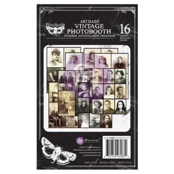 Prima Finnabair Art Daily Vintage Photobooth Sticker Pad (964832)