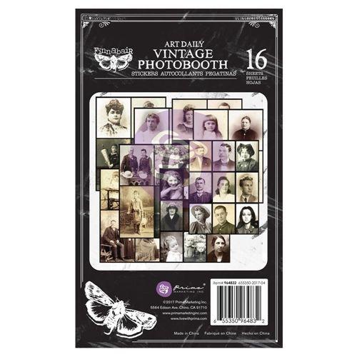 Finnabair Vintage Photobooth Sticker Pad (964832)