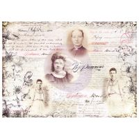 Prima Finnabair Art Daily Decorative Papers - Notes (968106)