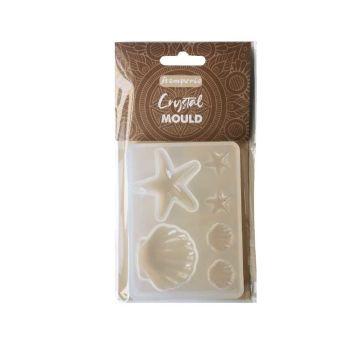Stamperia Crystal Mould Shells (KACM01)