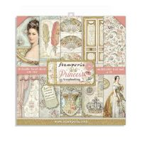 Stamperia Princess  8x8 Inch Paper Pack (SBBS01)