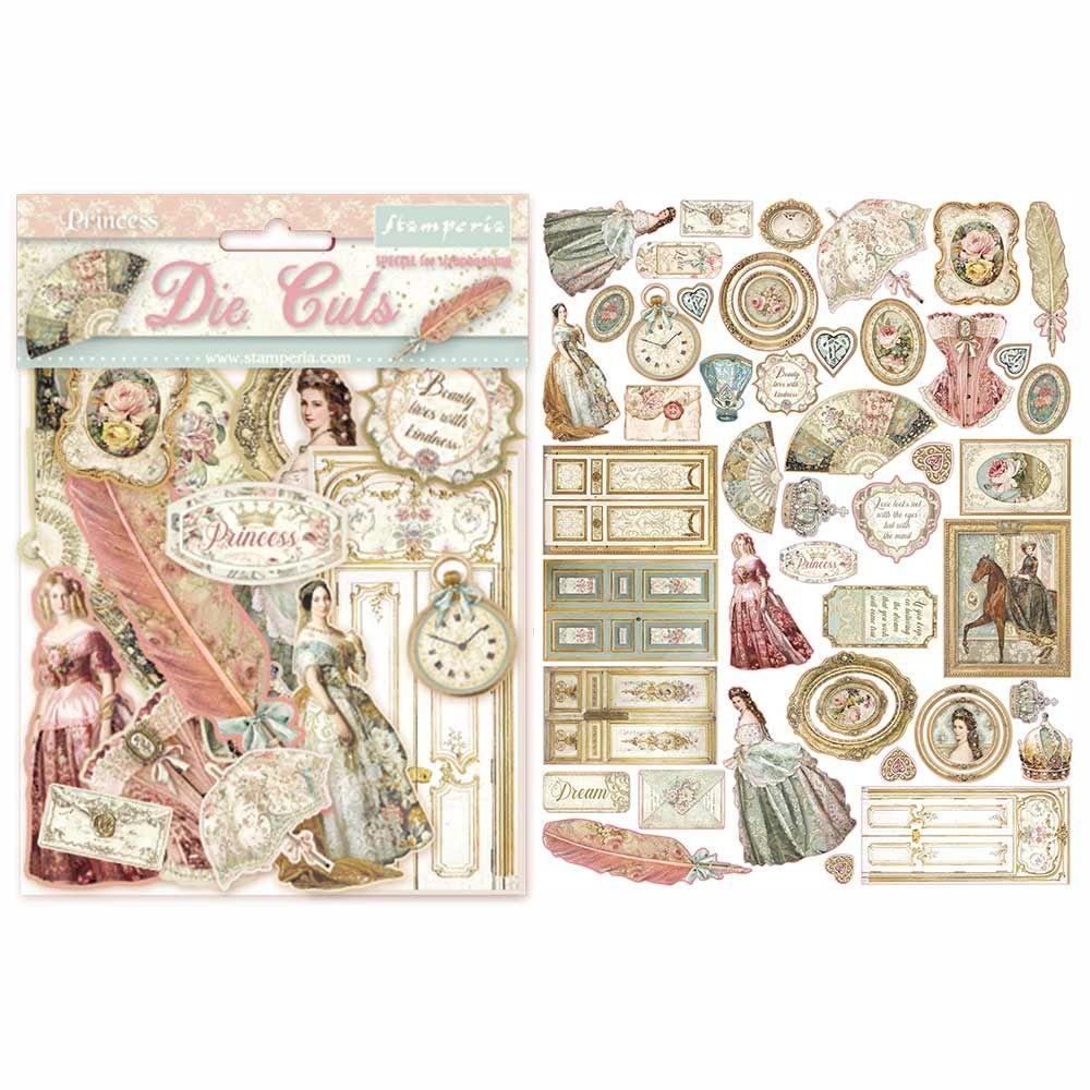 Stamperia Princess Die Cuts (DFLDC16)