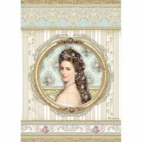 Stamperia Princess Rice Paper A4 Princess (DFSA4481)