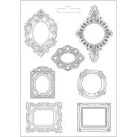 Stamperia Princess Soft Mould A4 Frames (K3PTA470)