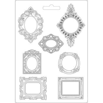 Stamperia Princess Soft Mould A4 Frames (K3PTA470)