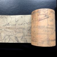 Vintage Map Washi Tape (W8002)