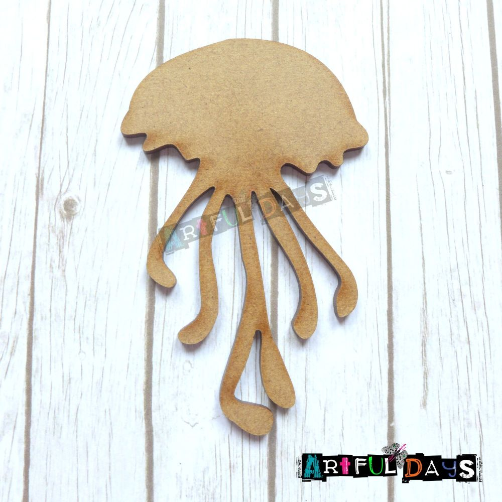 Artful Days MDF Sea Critters Collection - Jellyfish (ADM039)