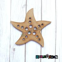 Artful Days MDF Sea Critters Collection - Starfish (ADM041)