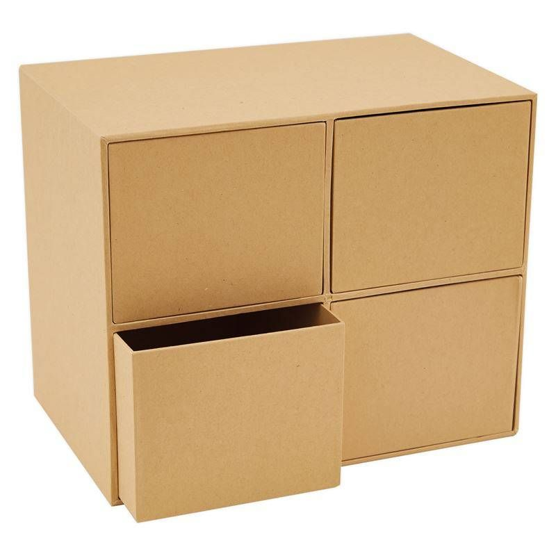 Papermania Bare Basics Square Drawers (PMA 174020)
