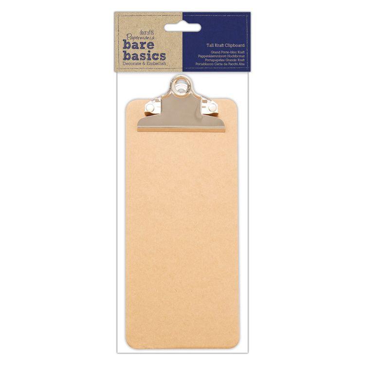 Papermania Tall Kraft Clipboard (PMA 174799)
