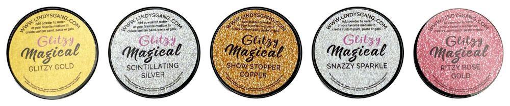 Lindy's Stamp Gang Glitzy Magical Glitz Set (mag-glitz-01)