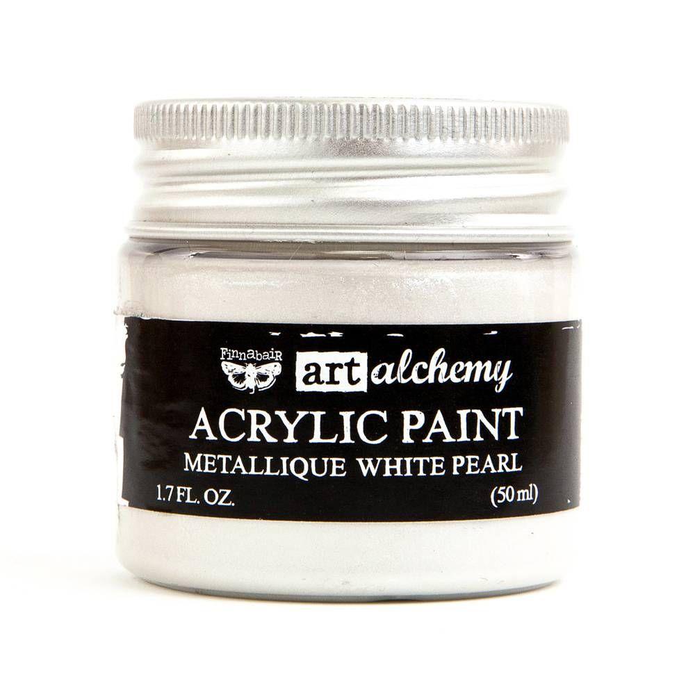 Prima Art Alchemy Acrylic Paint - White Pearl