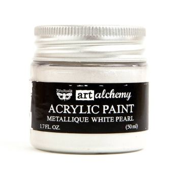 Prima Art Alchemy Acrylic Paint - White Pearl