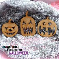 Artful Days MDF Frightful Halloween - Pumpkin Trio (ADM047)