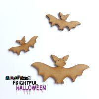 Artful Days MDF Frightful Halloween -  Bat Family (ADM045)