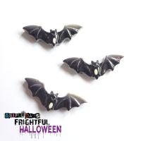 Halloween Resin Bats