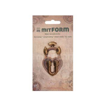 mitFORM Tubes & Valves 3 Metal Embellishments (MITS056)