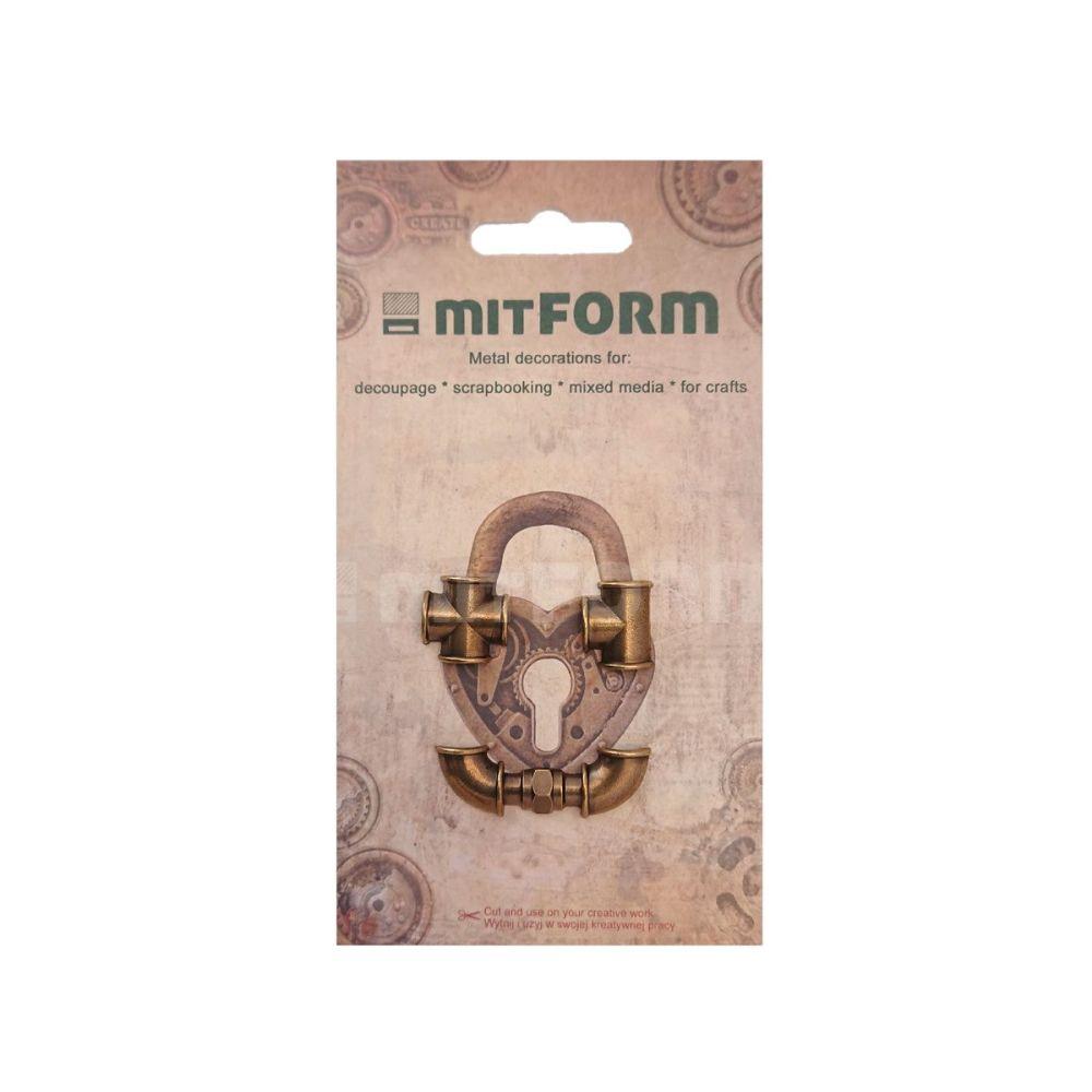 mitFORM Tubes & Valves 2 Metal Embellishments (MITS055)