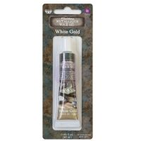 Prima Marketing Art Alchemy Metallique Wax -  White Gold