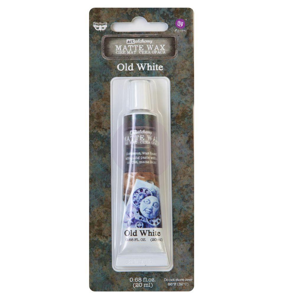 Finnabair Art Alchemy - Matte Wax - Old White