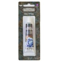 Prima Finnabair Art Alchemy - Matte Wax - Old White