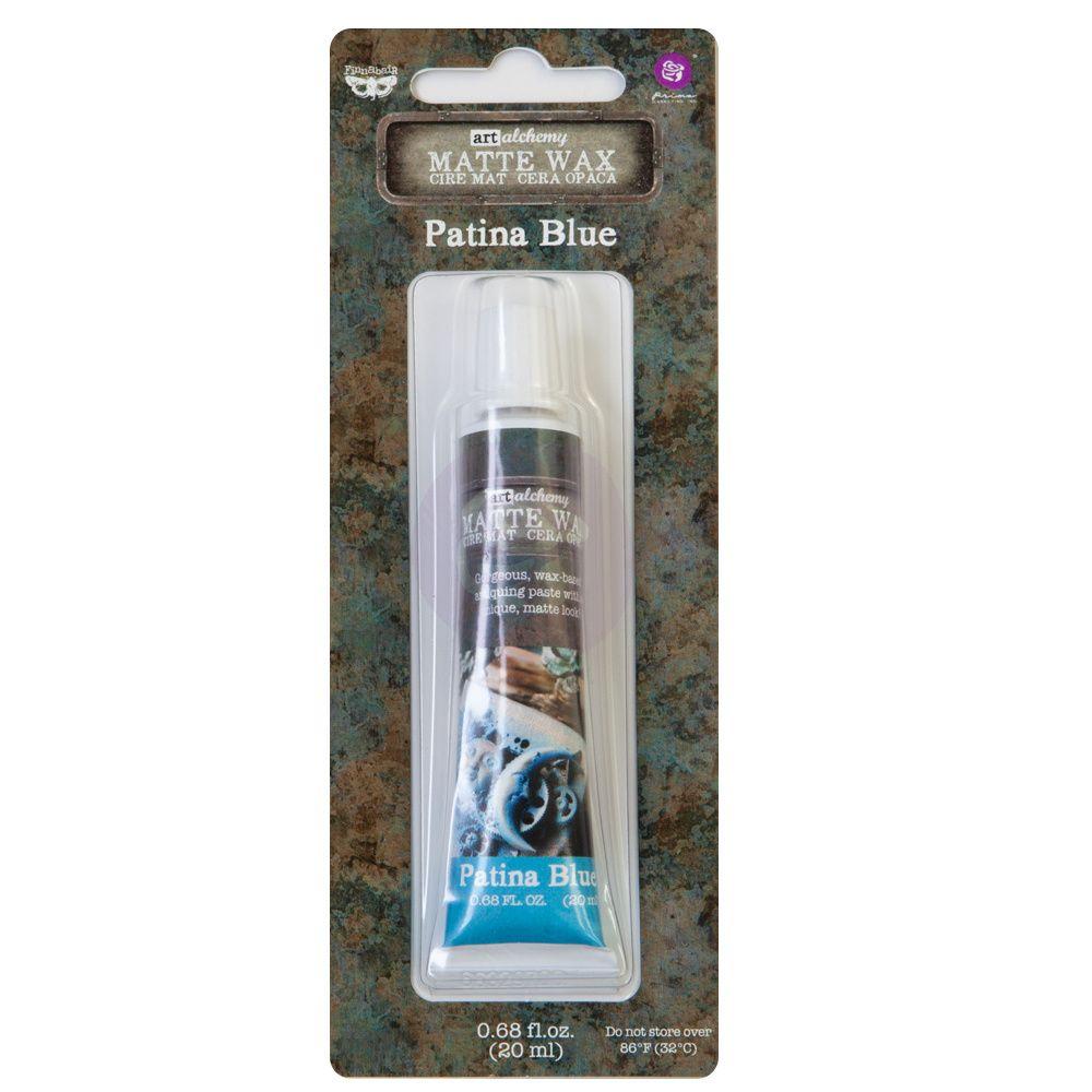 Finnabair Art Alchemy - Matte Wax - Patina Blue