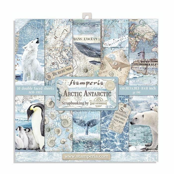 Stamperia Arctic Antarctic 8 x 8