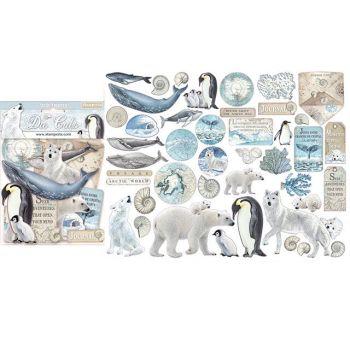 Stamperia Arctic Antarctic Die Cuts (DFLDC19)