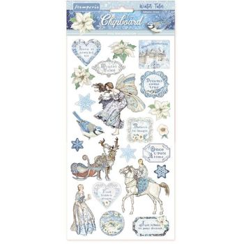 Stamperia Winter Tales Chipboard (DFLCB09)