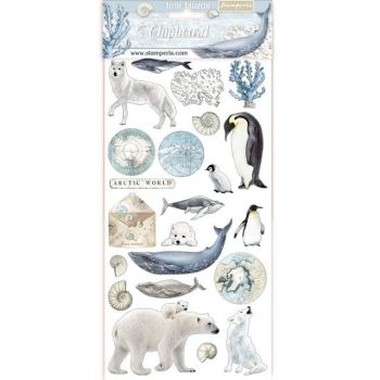 Stamperia Arctic Antarctic Chipboard (DFLCB08)