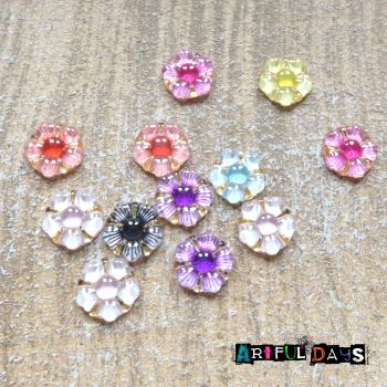 Cute  Resin Daisy Flowers (CA3019)