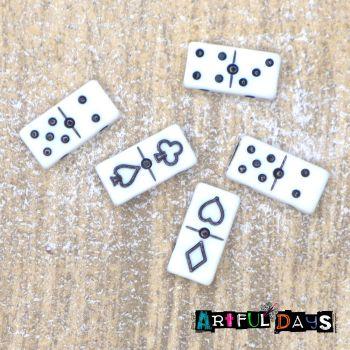 Cute Mini Domino Beads (E5012)