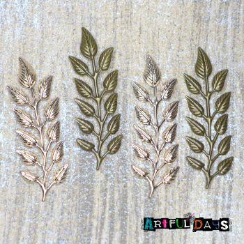 Dainty Embossed Leaves (C110)