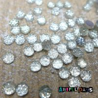 Tiny 4mm Clear Cabochons (CA3004)