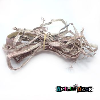 White/Pink Wash Natural Tree Bark Strips