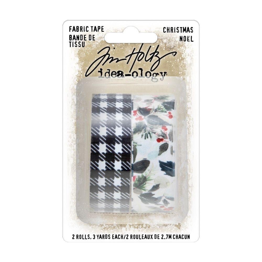 Tim Holtz Fabric Tape Christmas (TH94095)