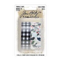 Tim Holtz Fabric Tape Christmas (TH94095)