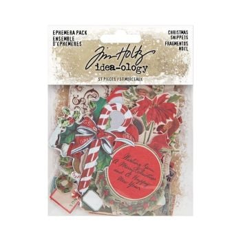 Tim Holtz Ephemera Snippets Christmas (TH94087)