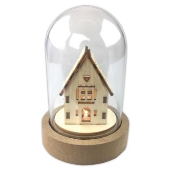 Papermania LED Cloche House (PMA 105989)